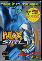Prospekt D Mattel Max Steel 2000 Spielzeugprospekt Spielzeug Broschüre brochure