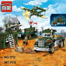 Enlighten Military Army Mobile Combat Vehicle Building Block blocks toy Toys