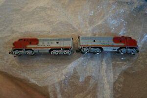 Marklin Santa Fe 3060/4060 F7 Diesel Locomotive HO