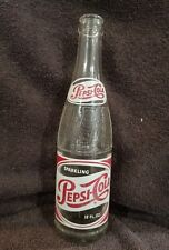 vintage ACL Soda Bottle: PEPSI-COLA of CANTON, OHIO - 12 oz VINTAGE