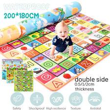Baby Spielmatte Babymatte Krabbeldecke Faltbar Krabbelmatte Teppich 200*180cm DE
