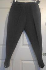 Vintage Black Bogner Wool Nylon Ski Pants Western Germany W29 Short
