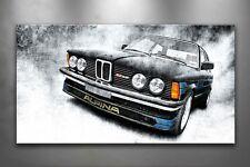 BMW b6 Alpina 2.8, 323i, e21, Image sur toile, fabriquée, Année de construction 1982, 687
