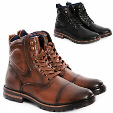 Rangers Homme Bottines Chaussures Bottes Desert Boots Cuir Écologique Toocool