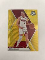 2019-20 Panini Mosaic Tmall Goran Dragic Gold Wave Prizm Miami Heat SP