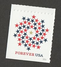 US 5131 Patriotic Spiral forever single (1 stamp from booklet of 10) MNH 2016