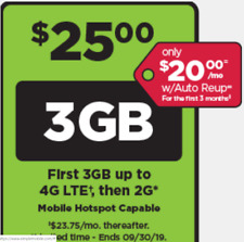 Preloaded Simple Mobile SIM Card $25 plan - text/talk/3GB - NEW ACTIVATIONS ONLY