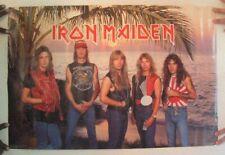 Iron Maiden Poster Band Shot Palm Tree