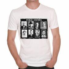 Public Enemies Al Capone Scarface T-shirt Homme,Col Rond,Homme T-shirt