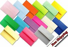 Assorted Colors 50 Boxed A7 Envelopes for 5 x 7 Invitations Announcements Shower