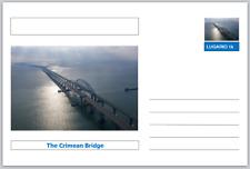 "Landmarks - souvenir postcard (glossy 6""x4""card) - The Crimean Bridge"