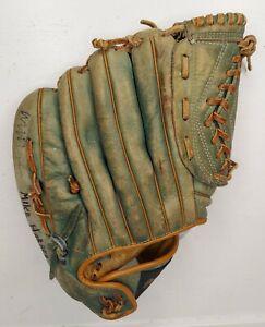 "MacGregor Willie Mays ""Autograph Model"" Green Baseball Glove RHT 671B"