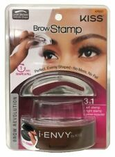 Waterproof Eyebrow Stamp 3second Brow Eyebrows Stamp Powder Kit Ink Dark Brown