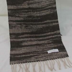Sale New Vintage Mans Cashmere Wool Warm Striped Scarves Scarf GIFT 36245