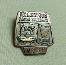 Indianapolis 500 1976 Bronze Pit Badge