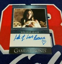 2020 The Complete Game of Thrones Roxanne McKee Blue Border Autograph