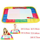 Kids Water Drawing Painting Writing Mat Board Magic Pen Doodle Toy Gift 100X73cm