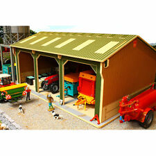 BRUSHWOOD BBB150 Open Barn  - 3 Bays Big Basics - 1:32 Farm Toys