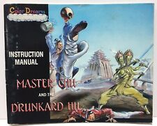 Master Chu Drunkard Hu Instruction Booklet Manual Only for Nintendo NES NTSC