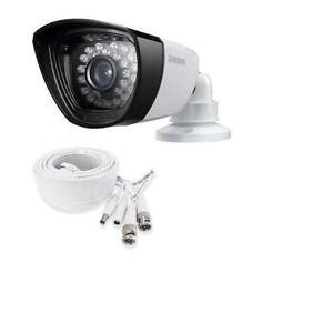 Samsung SDC-7340BCN WeatherPrf Camera CCTV Night V + BNC Cable SDC-7340 5100
