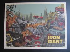 LandLand The Iron Giant Mondo Movie Poster Print Signed Vacvvm Phish Artist