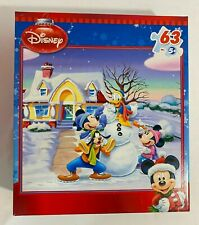 Disney Mickey Mouse MEGA Brands Jigsaw Puzzle 63 Pieces. Factory sealed