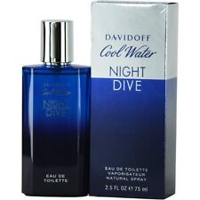 Cool Water Night Dive by Davidoff EDT Spray 2.5 oz