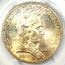 1918 Lincoln Illinois Half Dollar 50C Coin - Certified PCGS MS67 - $1,850 Value!