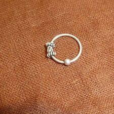 925 Sterlingsilber Nasenstecker Gerade L Biegung Nasen Ring Seepferdchen 22g