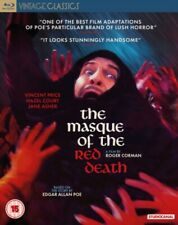 Masque of The Red Death (vincent Jane Asher) Region B Blu-ray Booklet