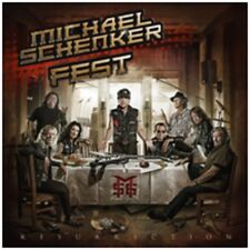Michael Schenker Fest - Resurrection - New Ltd Clear Vinyl LP