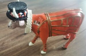 Cow Parade Beefeater It Ain't Natural Ornament Figurine 7247 Collectable 2002