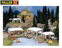 Faller H0 130503 Camping-Wohnwagen-Set - NEU + OVP
