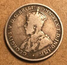 AUSTRALIA - George V - Florin 1915H - KM27 - Silver Coin - Very Good - KEY DATE!