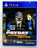 PayDay 2 Crimewave Edition - PS4 - Brand New | REGION FREE | Portuguese Cover