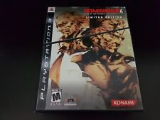 Metal Gear Solid 4: Guns of the Patriots Limited Edition [PS3] [Complete Set!]