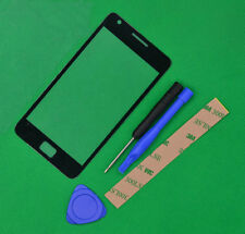 Black Touch screen Outer Glass Lens for Samsung Galaxy S2 i9100