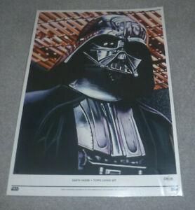 Topps Living - Star Wars Fine Art Print - Darth Vader 018/100