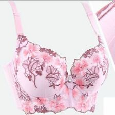 Super Boost Thick Padded Add 2 Cups Push Up Lace Bra Plunge Underwire Brassiere
