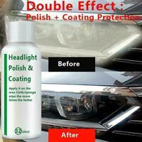 20ml Auto Headlight Polishing Fluid Restoration German Car Repair Kit J2Y1 R8U5