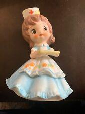 Vintage Josef Nurse Girl Figurine Adorable!