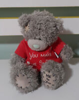 ME TO YOU TEDDY BEAR CARTE BLANCHE WITH 13CM TALL! YOU MAKE ME SMILE