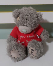 ME TO YOU YOU MAKE ME SMILE  TEDDY BEAR CARTE BLANCHE WITH 13CM TALL!