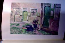 1899 orig. Farblitho. Emile Claus FERME EN ZUID-BEVELAND Secession  Art Nouveau