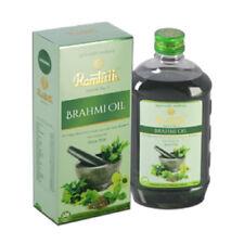 NEW! Ramtirth 200ml Brahmi Hair Oil 22 Exotic Herbs For Strong Roots Hair Loss