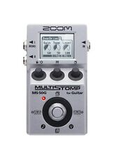 Zoom MS50G Multi-Effects Guitar Effect Pedal with free pick!