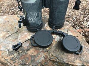 Binocular Lens cover attachment hardware