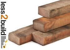 38x88mm Fence/Paddock Rail Timbers Treated Brown 3.6m