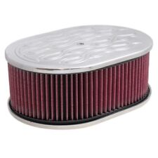 "12"" x 4"" (100mm) Billet Alloy Holley Air Filter Oval suit 5 1/8"" neck 16-275"