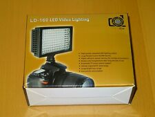 LD-160 160 LED Video Light Lamp Hot Shoe Mount for Canon 70D 700D 600D .. etc